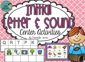 **Please note, this product is included in my  TEACHING READING SKILLS BUNDLE {K-2} **This pack is perfect for reinforcing beginning sounds and increasing alphabet/letter/sound knowledge.Includes: 3 various activities1: Initial Letter/sound match - 60 various high quality pictures for children to work through.