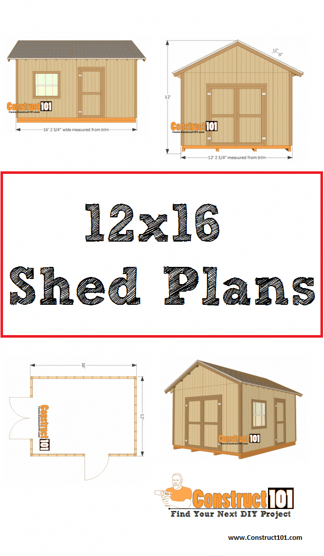 The Garden Shed #TheGardenShed | Shed plans, Free shed ...