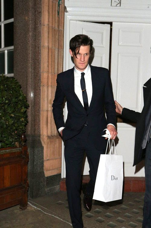 Matt Smith in Dior