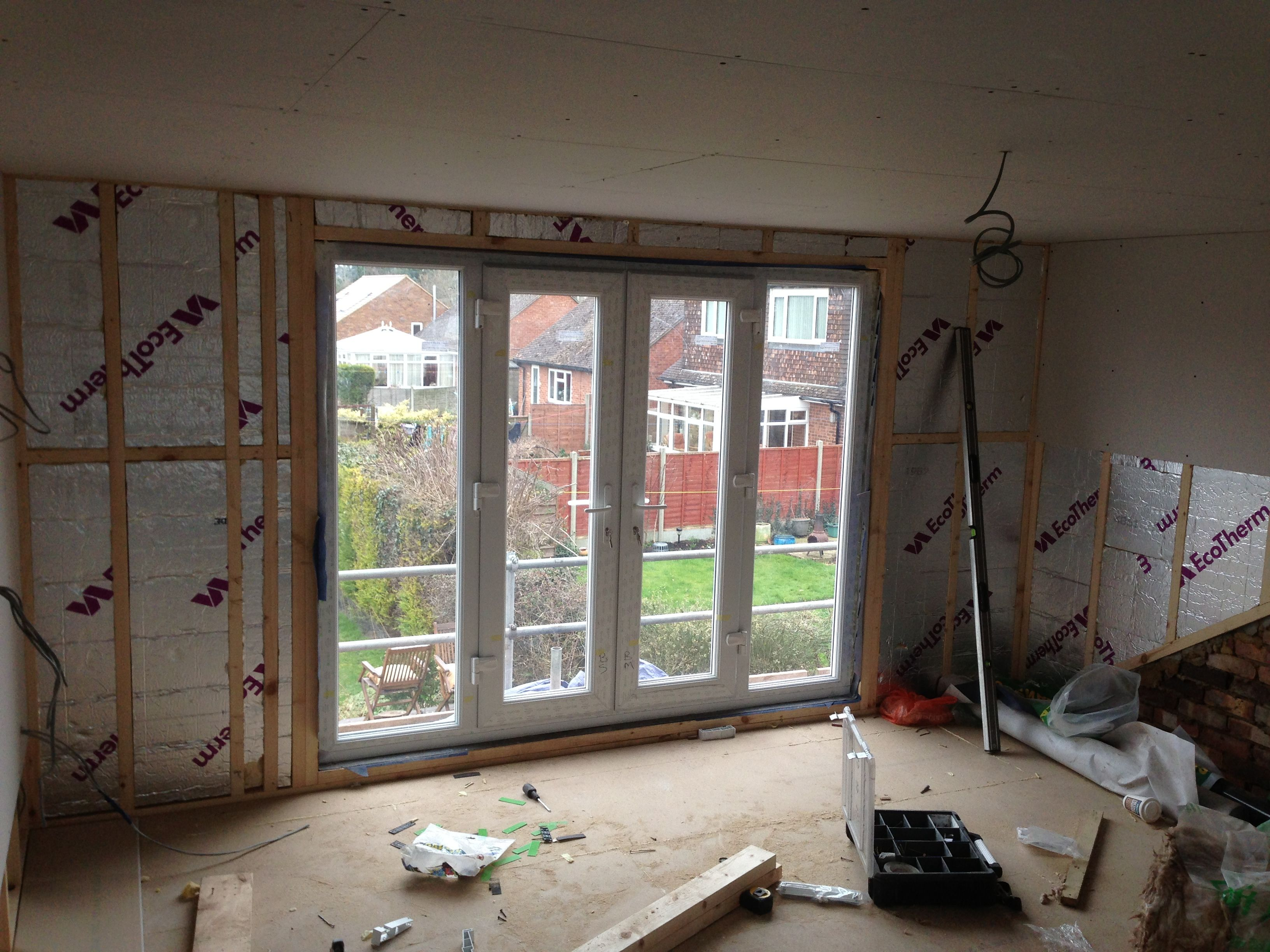 french doors, Juliette balcony, loft conversion | Home ...
