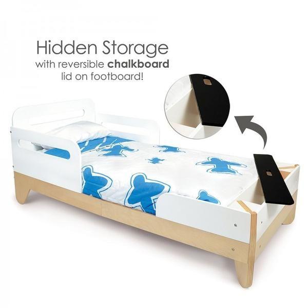 Modern Toddler Bed White