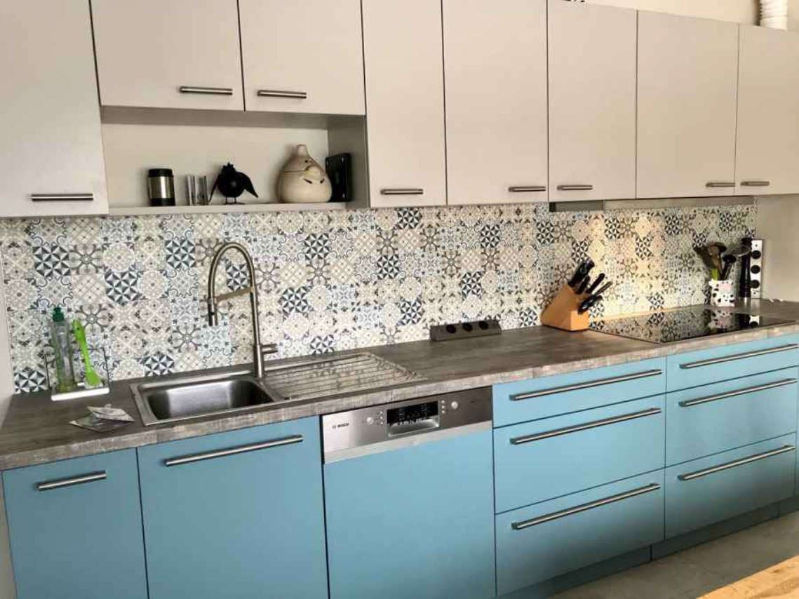 Küchenrückwand portugiesische Fliesen  Küchenrückwand, Küche