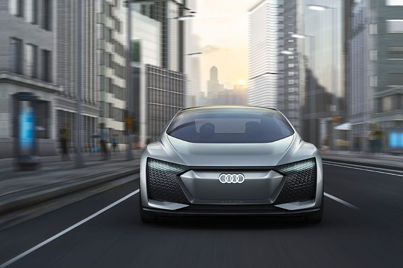 Audi Aicon Concept Car Presented At Frankfurt Motor Show 2017 Concept Cars Audi Rear Wheel Drive