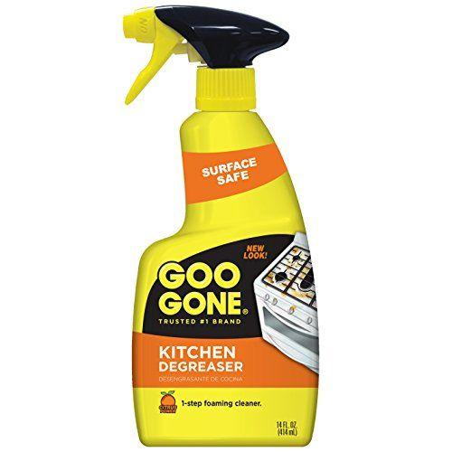 Goo Gone Kitchen Degreaser 14 Fl Oz Fast Working Powerful