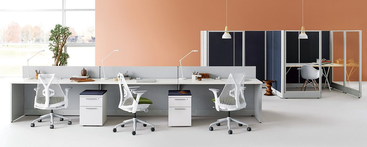 Beau Action Office   Office Furniture System   Work   Herman Miller