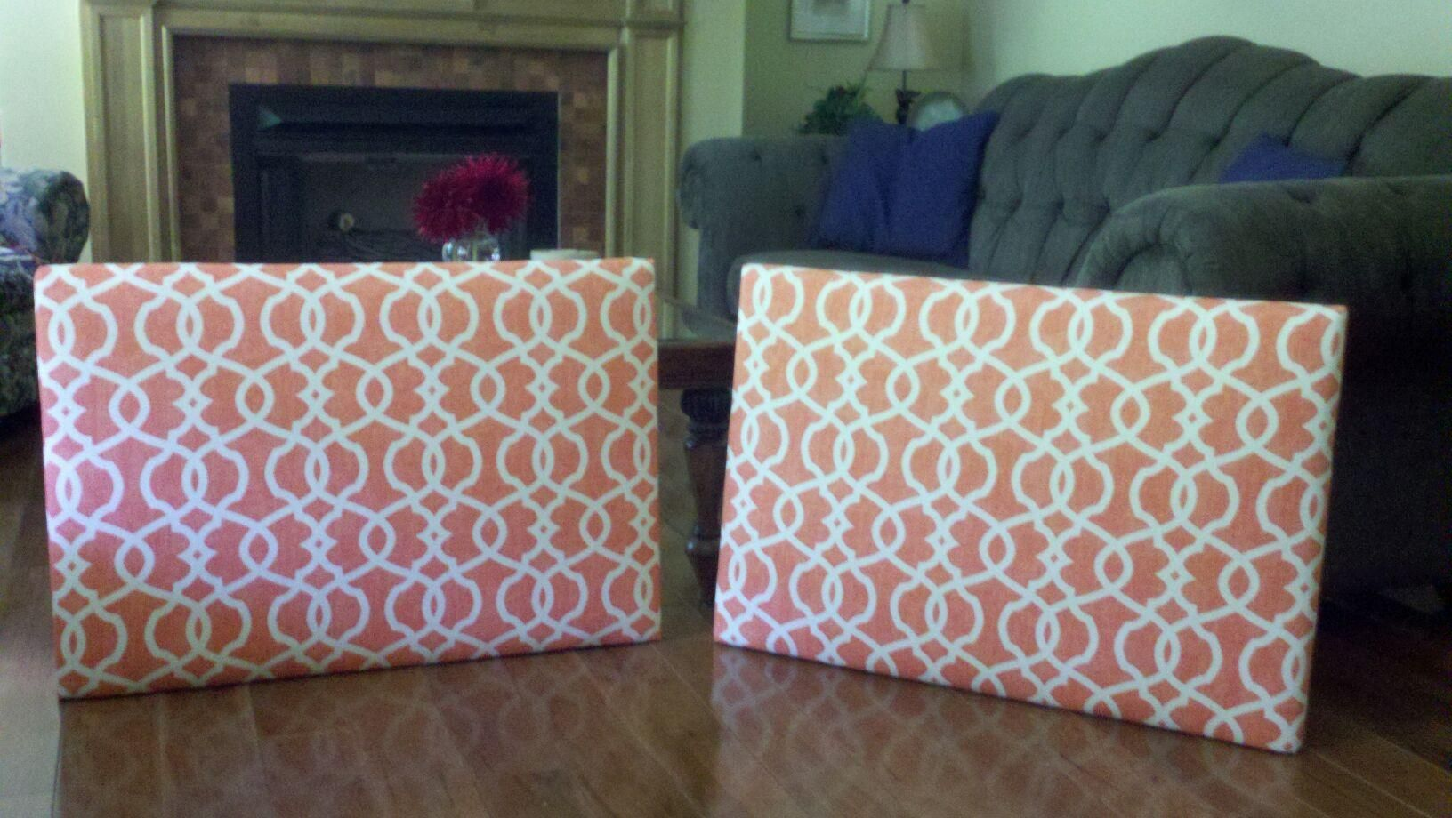 Diy headboards for college dorm cheap canvas art from for How to make a cheap headboard