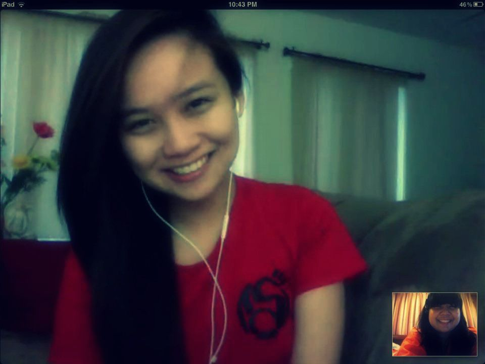 Skype Date with Misa