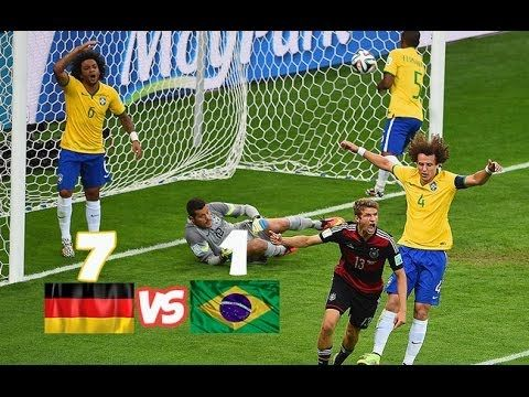 Germany Vs Brazil 7 1 Fifa World Cup 2014 World Cup Games