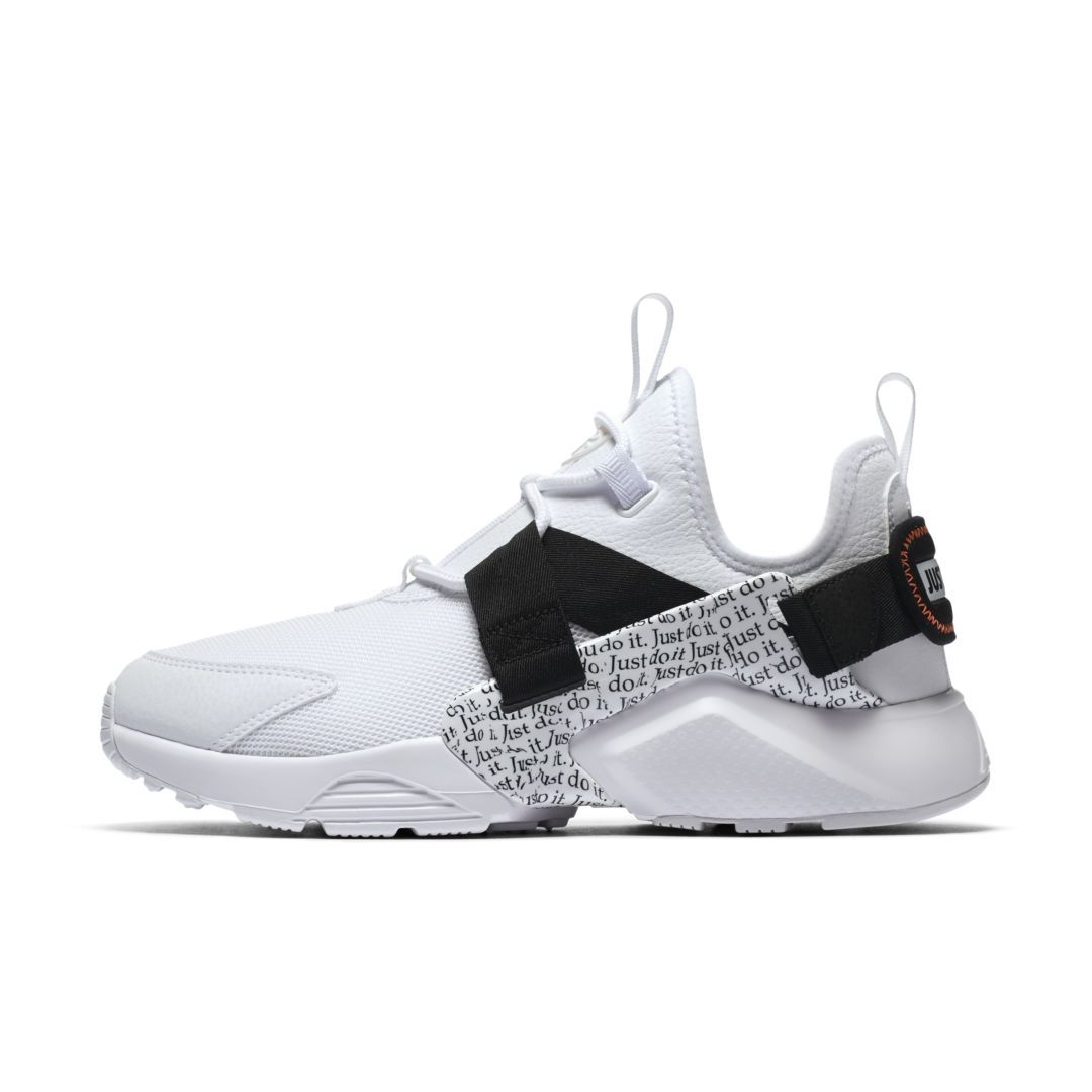 low cost 719ba 94738 Nike Air Huarache City Low Premium Women s Shoe Size 7.5 (White)