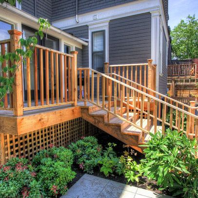 Houzz Landscaping Landscaping Around A Deck Design