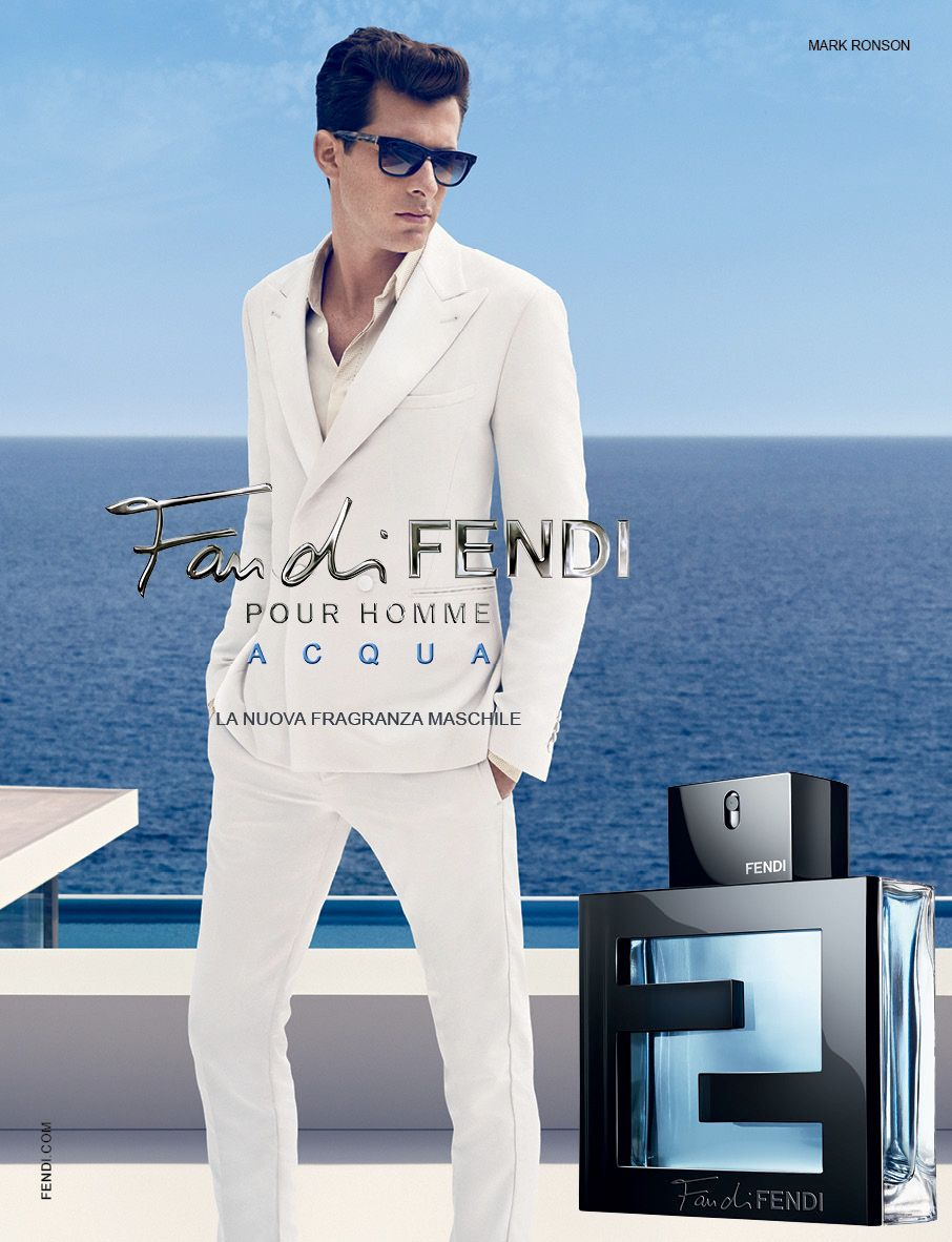 Fan Di Fendi Pour Homme Acqua Parfum Fendi Mark Ronson Ve