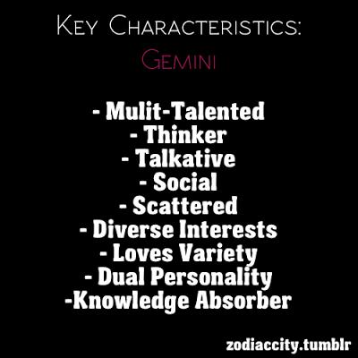 Gemini Personality | Calvin's Canadian Cave of Coolness: Gemini