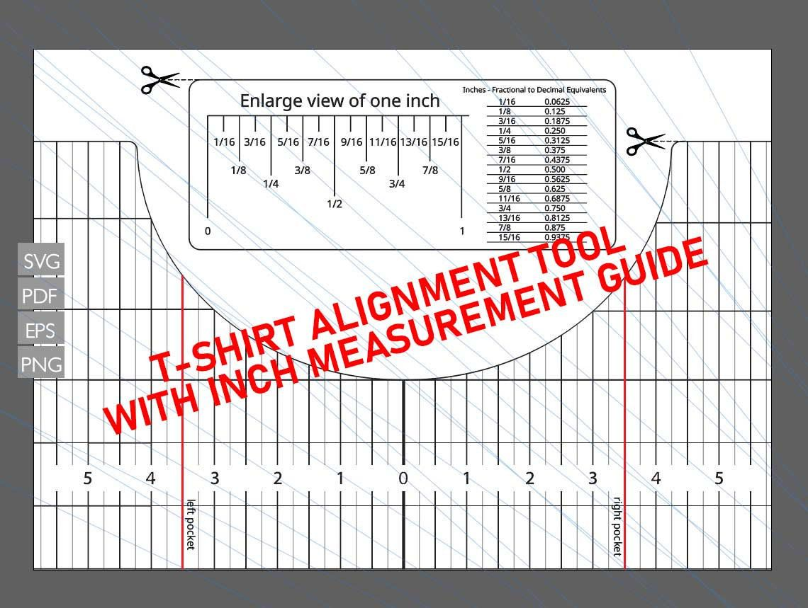 Pin By Jose Ortega On Termopechat In 2021 Printable Ruler T Shirt Diy Alignment