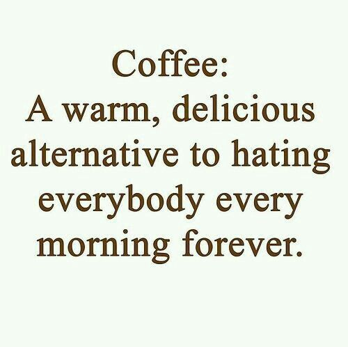 Coffee no hate