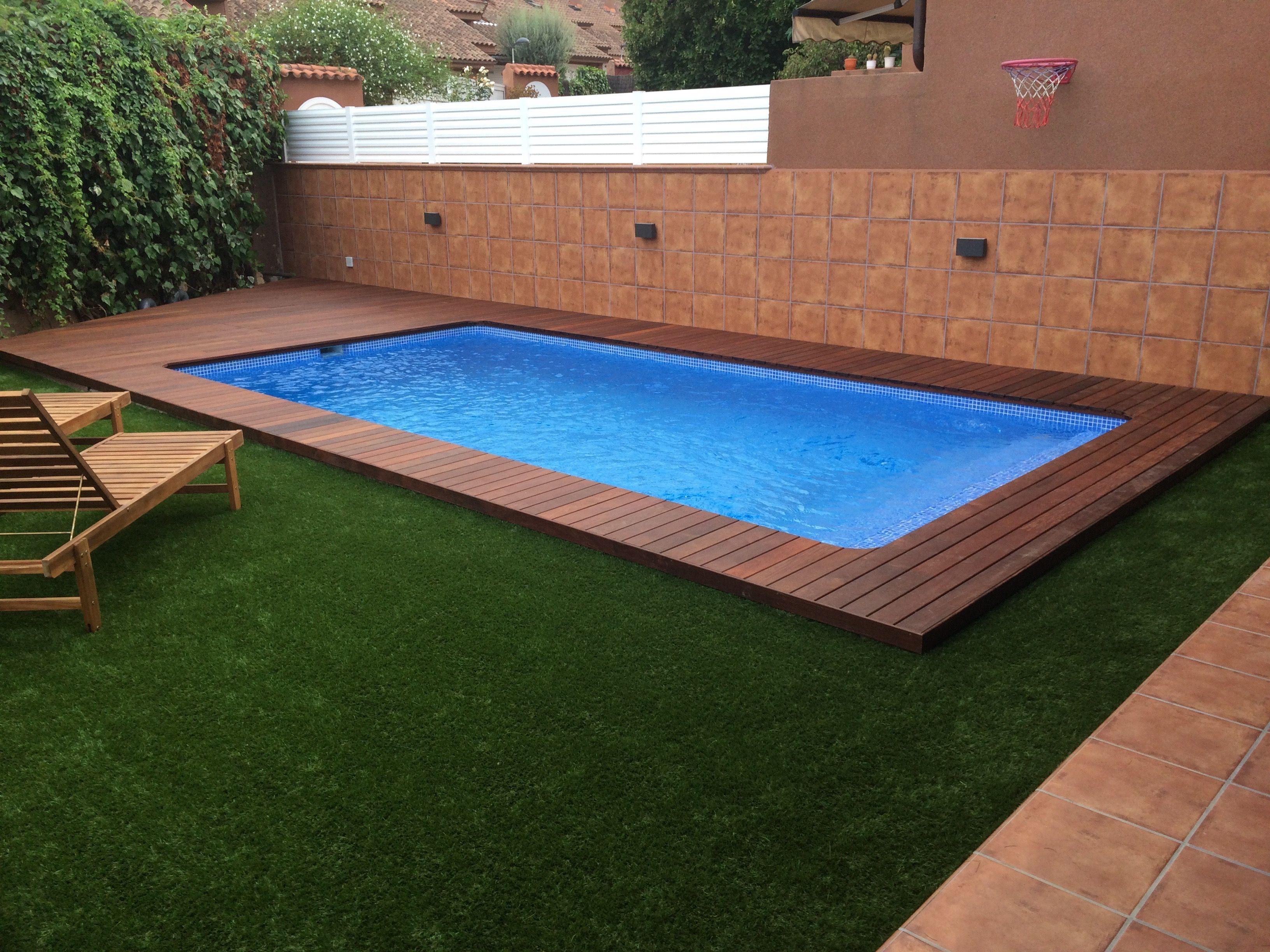 Dise o piscina madera elevada casa dise o for Cuanto sale hacer una pileta de material 2016