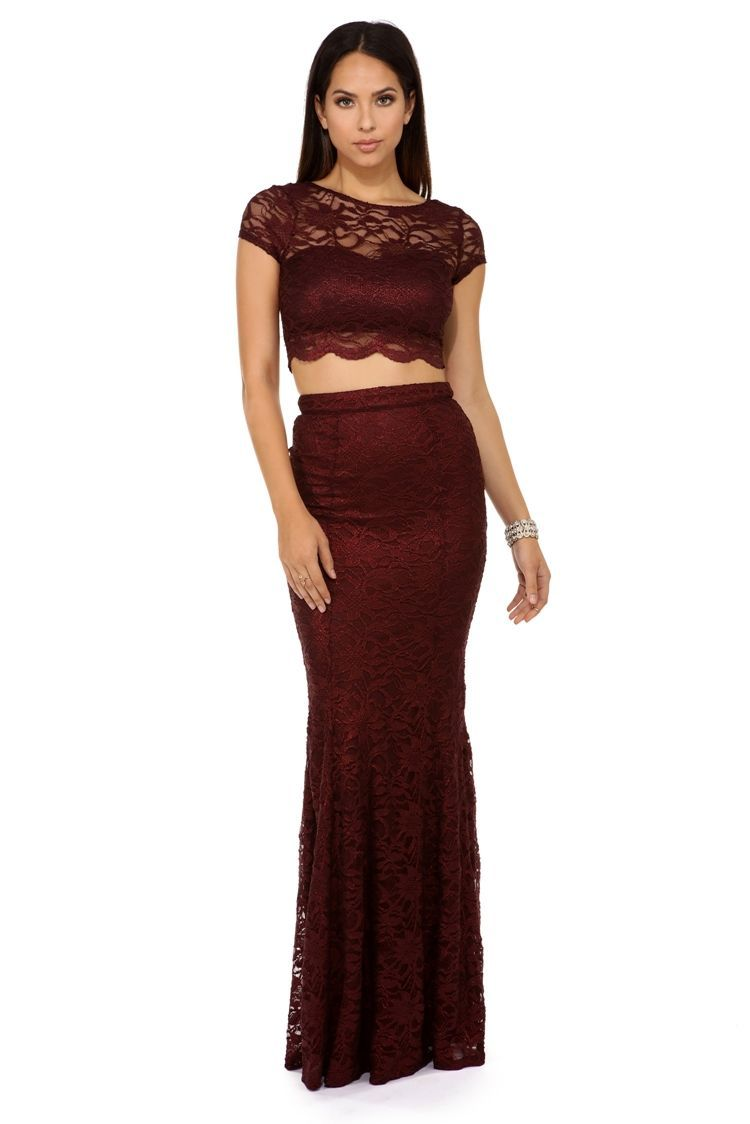 Sylvia Burgundy Formal Dress Prom And Fashion
