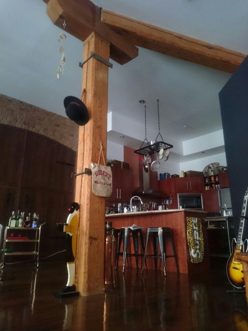 #chezkranz #lofts #woodbeams