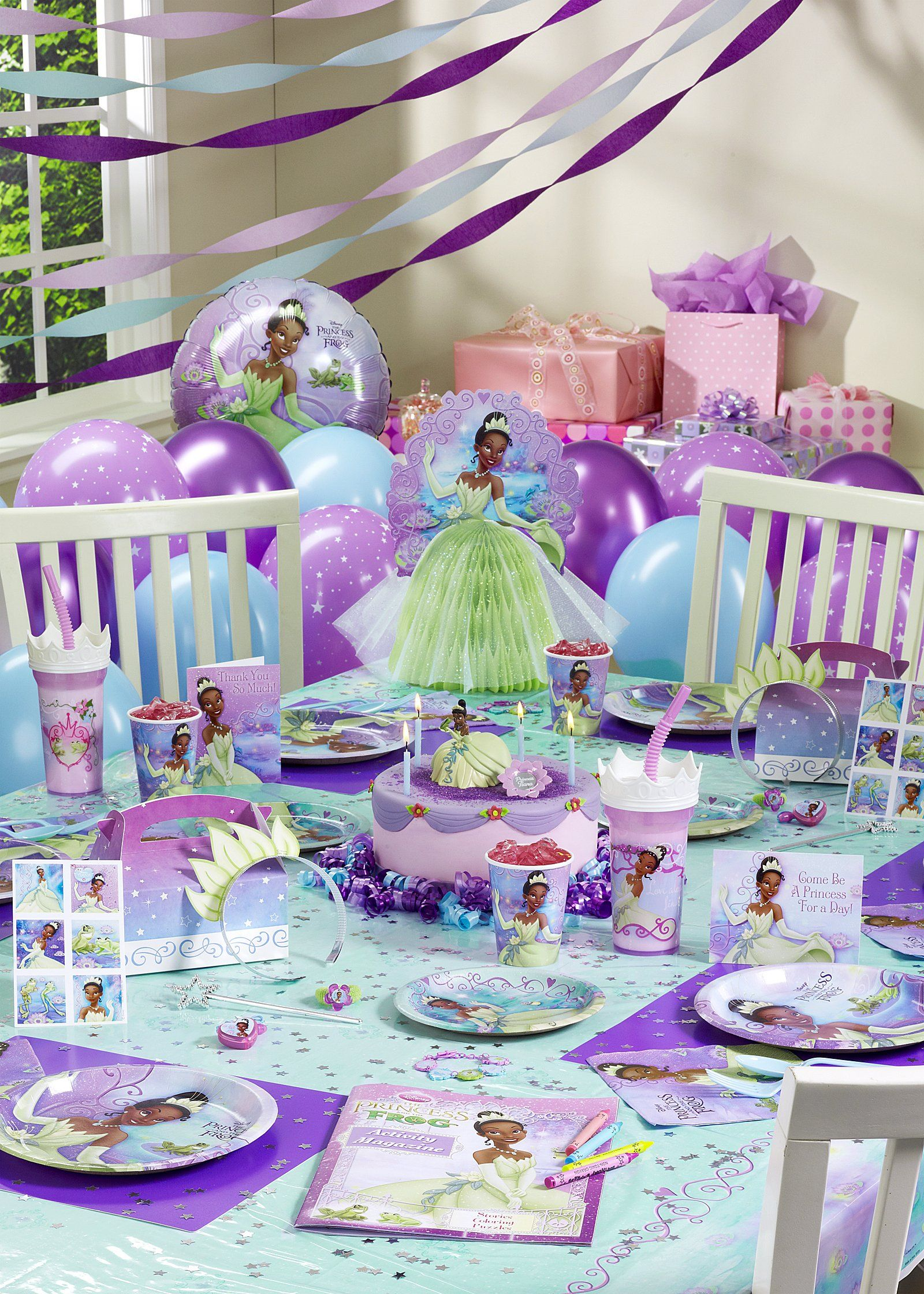 Disney princess and the frog ultimate party pack for 8 for 5th birthday decoration ideas