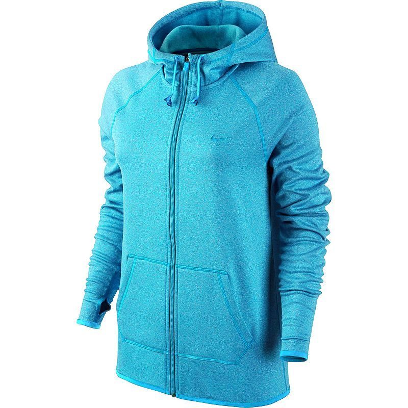 1e6ed5363f790 Women's Nike All-Time Full-Zip Workout Hoodie | Products | Fashion ...