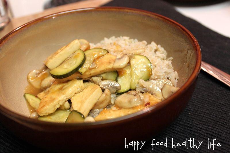 Sweet and Sour Tofu Stir-Fry