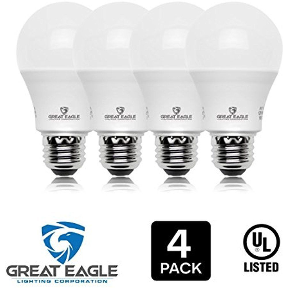Great Eagle 100w Equivalent Led Light Bulb 1610 Lumens A19 4000k Cool White Ul Greateaglelightingcorporation Led Light Bulb Light Bulb Bright White Led