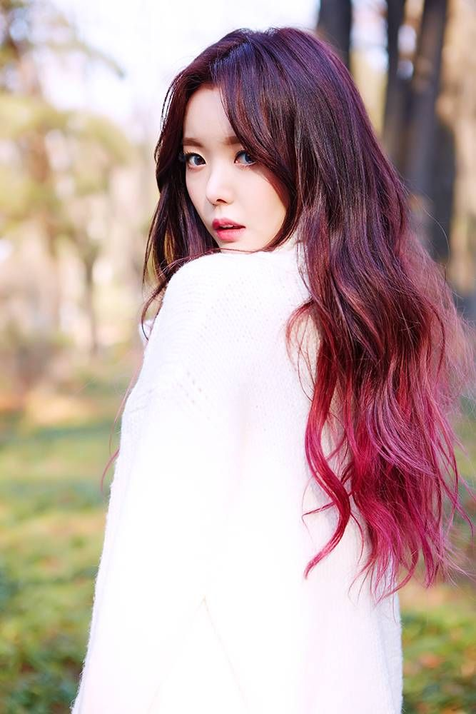 Dal Shabet S Serri And Woohee Are Beautiful In Naturalness Teaser Images Kpop Hair Color Korean Hair Color Girl Hair Colors