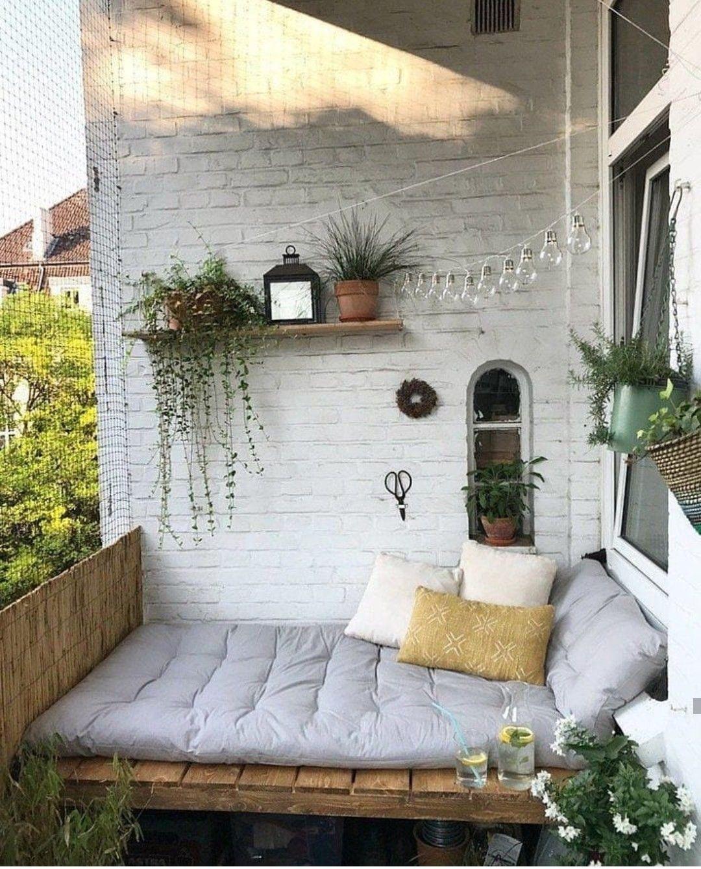 Décoration Balcon Et Aménagement Réussi: Apartment Balcony Decorating, Apartment