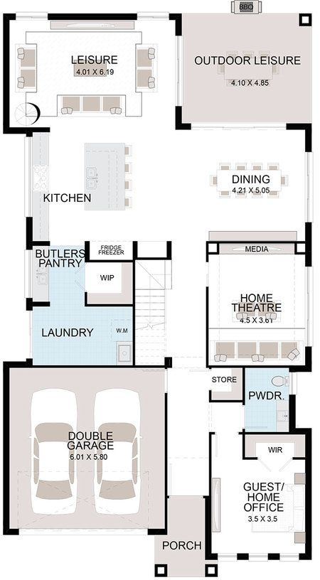 Home Designs Ambassador Wisdom Homes Kitchen Layout Plans Pantry Design Floor Plan Layout