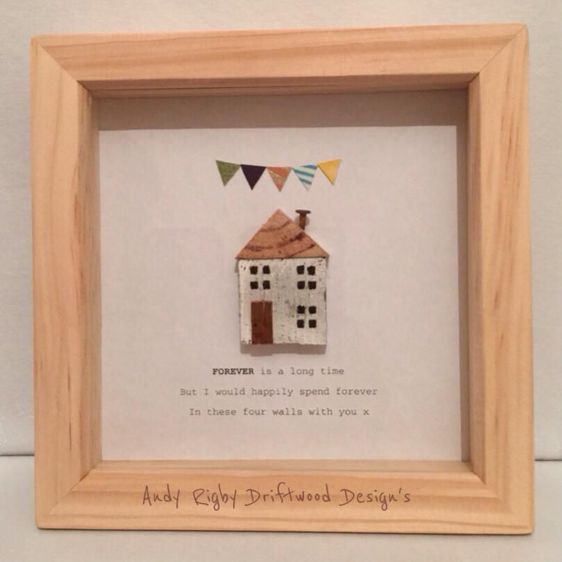 Unique little cottage box frames with several sayings by Andy Rigby ...