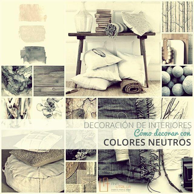 C mo decorar interiores con colores neutros consejos for Consejos para decoracion de interiores