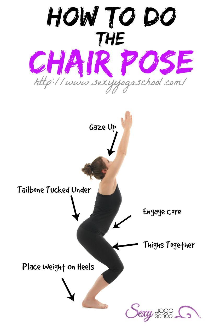 Yoga Poses Like Chair Pose