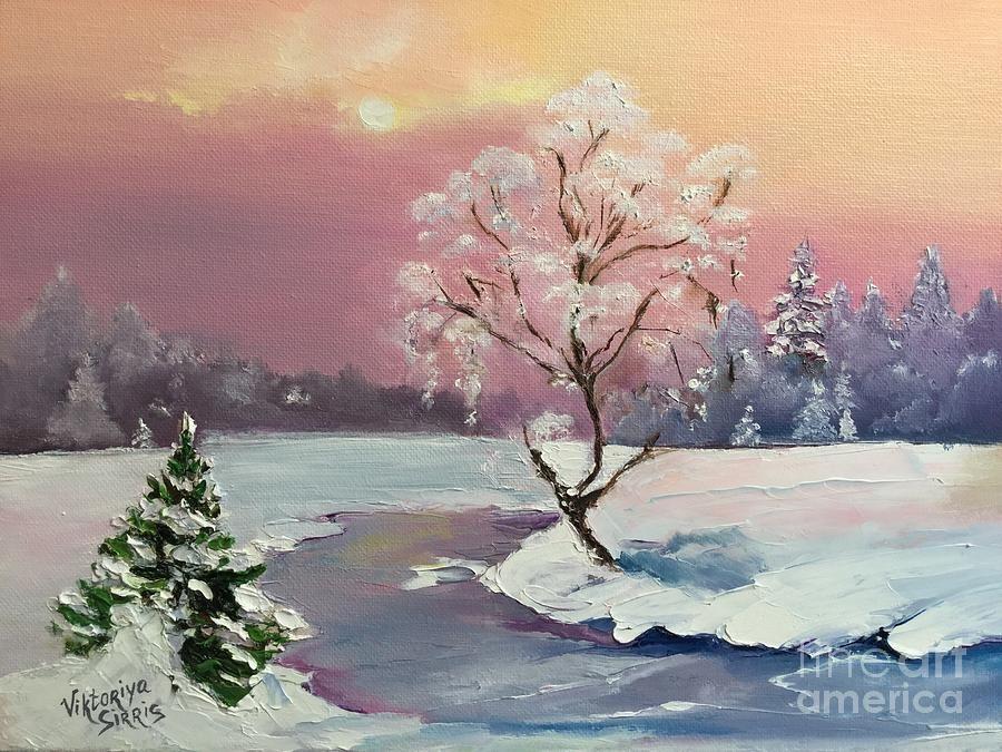 Frosty Silence - by Viktoriya Sirris