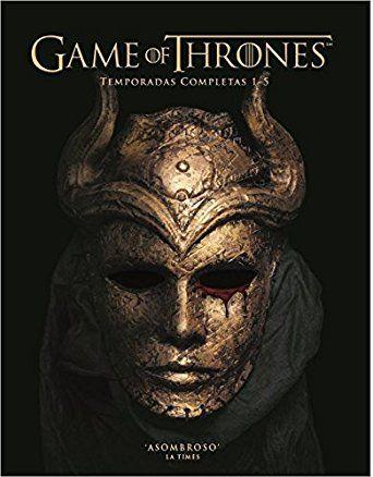 Juego De Tronos En Espanol Temporadas 1 A La 5 Game Of Thrones Seasons 1 5 Spanish Versio Game Of Thrones Poster Game Of Thrones Dragon Tattoo Game Of Thrones
