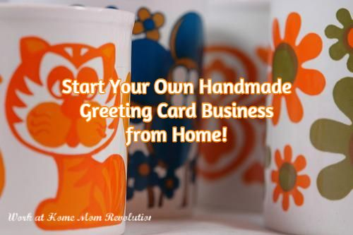 Start a handmade greeting card business from home pinterest start your own handmade greeting card business from home m4hsunfo