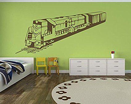 Wandtattoo fürs Kinderzimmer, 72454100x47cm, Eisenbahn