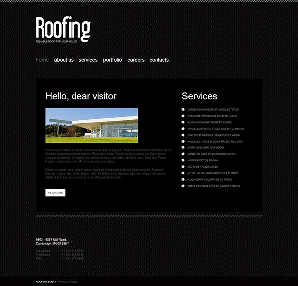 roofing joomla template website buy roofing joomla template most popular wide templates joomla templates maintenance services website templates