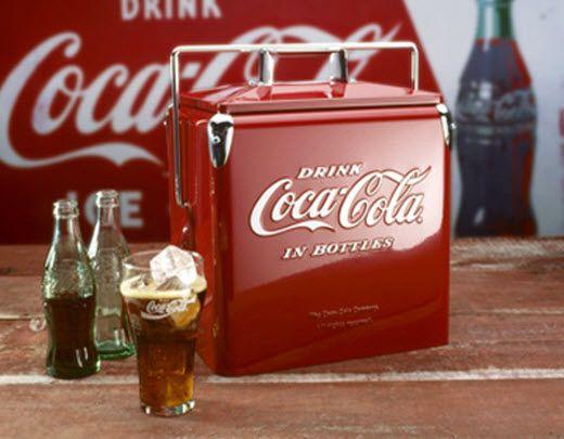 Smeg Kühlschrank Coca Cola : Coca cola cooler new coisas para comprar pinterest