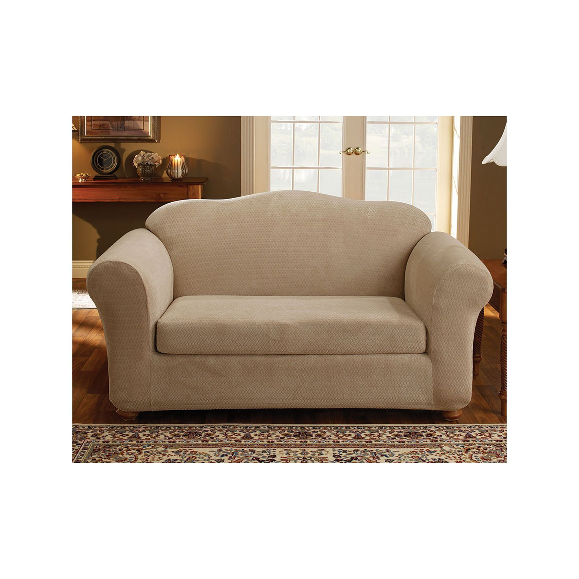 of features in shabby manners unfinished row manner home the henredon loveseat cannery adorable pattern an pin and