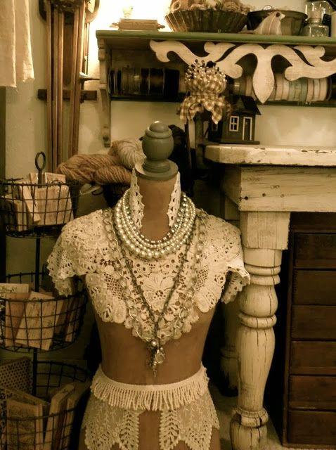 Sun Up To Sun Down | Vintage dress form, Dress form ...