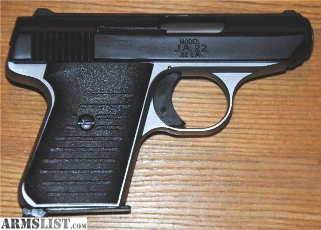 Jimenez Arms JA 22  22 LR   Guns   Hand guns, Guns, Arms