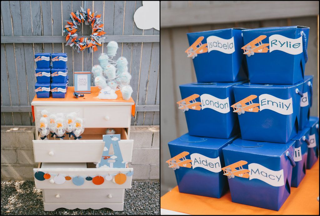 airplane party favors Birthdays Pinterest Airplane party