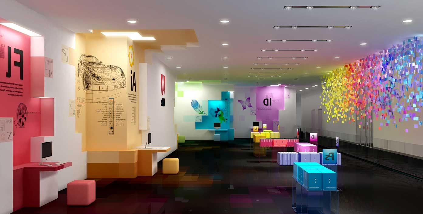Attractive new atmosphere by creating creative office for Commercial office space design ideas