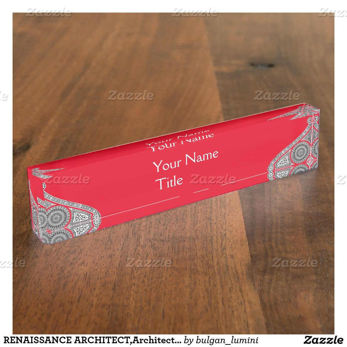 RENAISSANCE ARCHITECT,Architecture, Red White Nameplates | BUSINESS ...