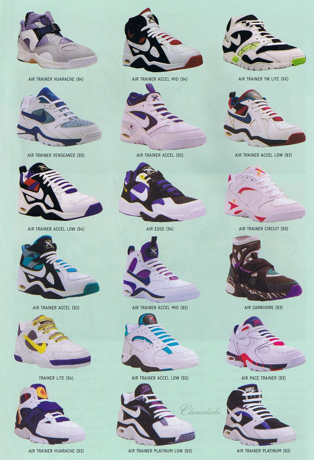 Remember when all the cool sneakers used to look like these ...
