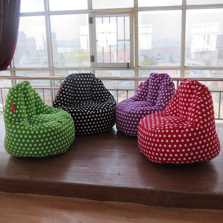 Finger Design Polka Dots Pattern Canvas Bean Bag US $66.68