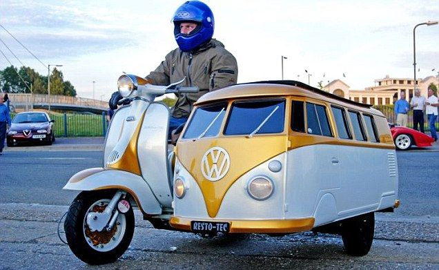 #Volkswagen #Sidecar ... the best way to move in the city