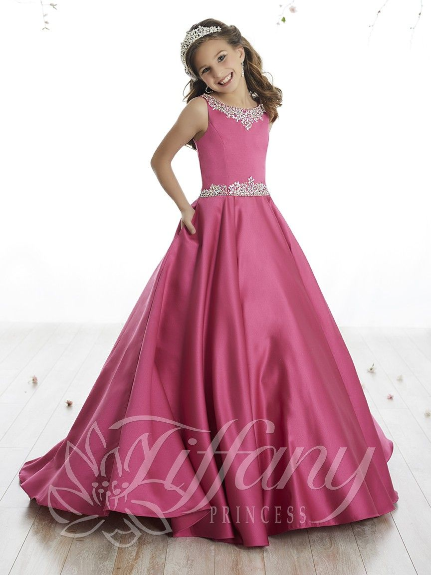 13506 - House of Wu Fuchsia Size 8 | Youth and Pre-Teen Pageant ...