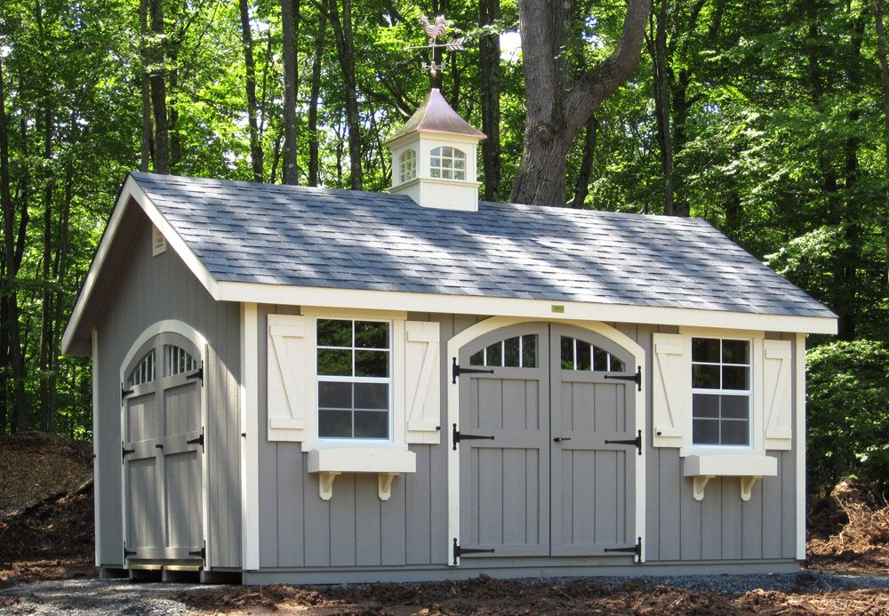 Kloter Farms Farm Shed Shed Rustic Arbor