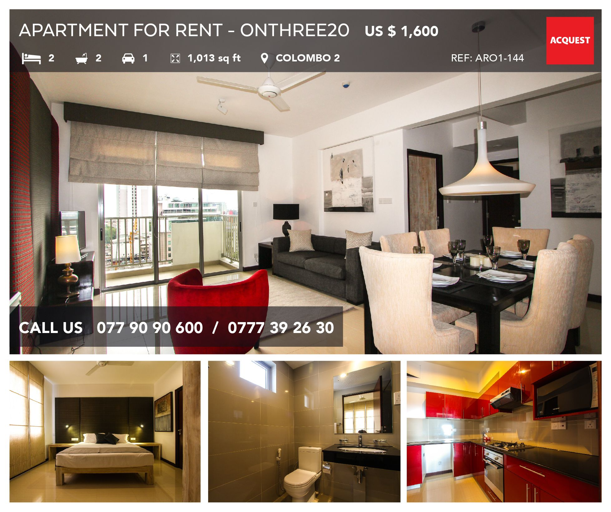to view this apartment contact us 9477 90 90 600 94777 39 26