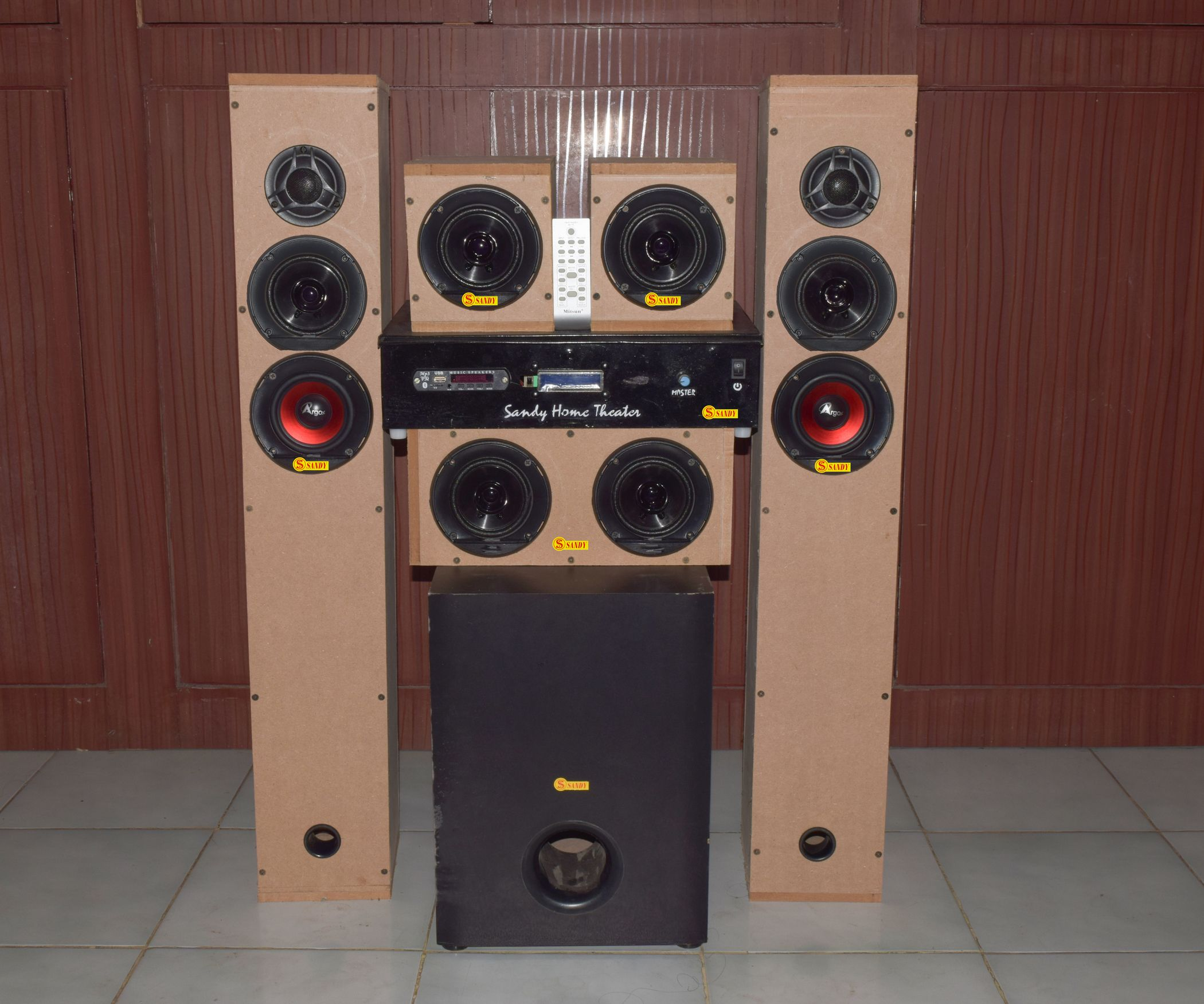 Diy 51 Home Theater System 700watt Rms Sound Projects Two Tone Alarm Generator Using Lm3900